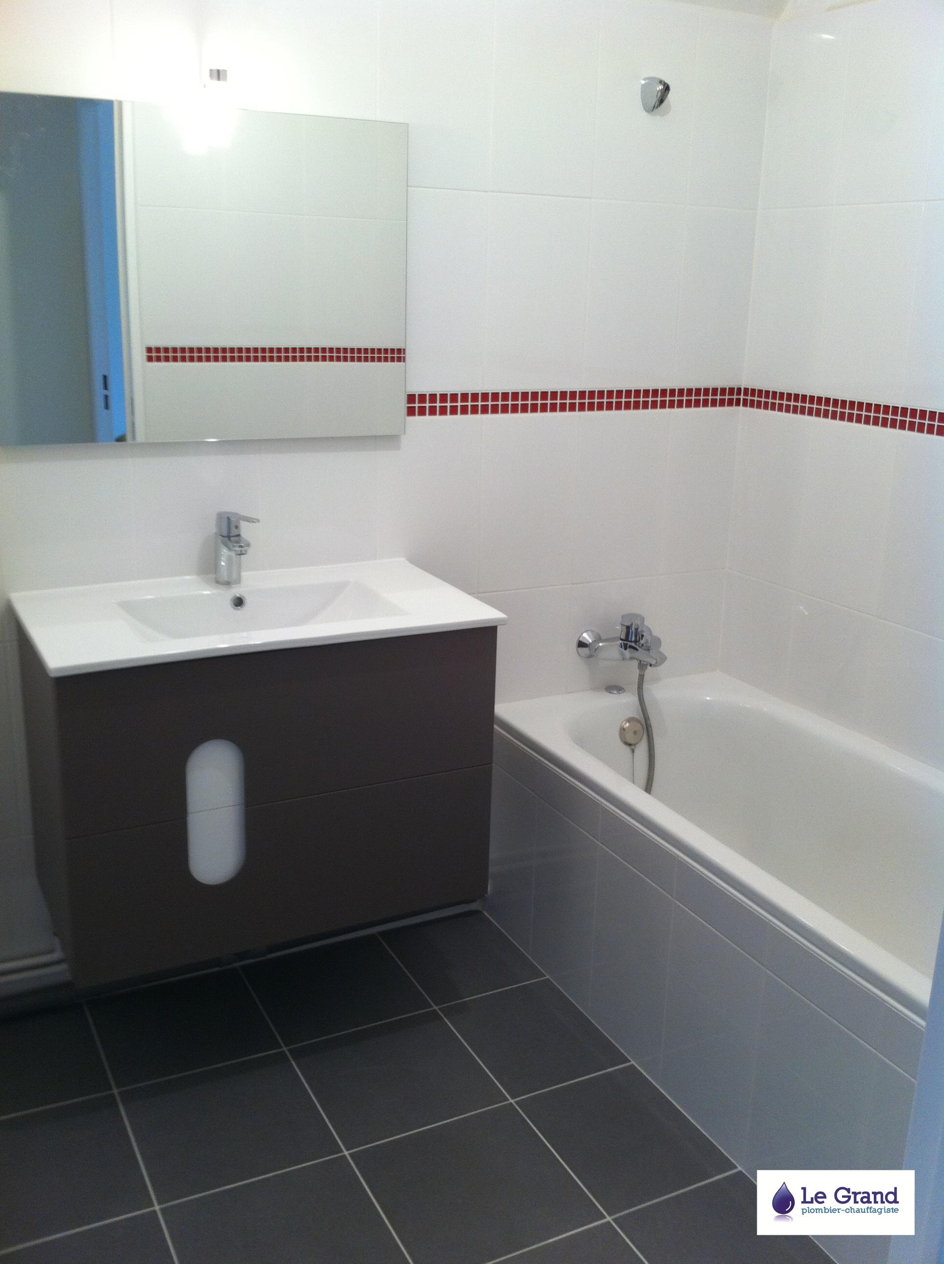 mosaique rouge salle de bain perfect mosaque travertin. Black Bedroom Furniture Sets. Home Design Ideas