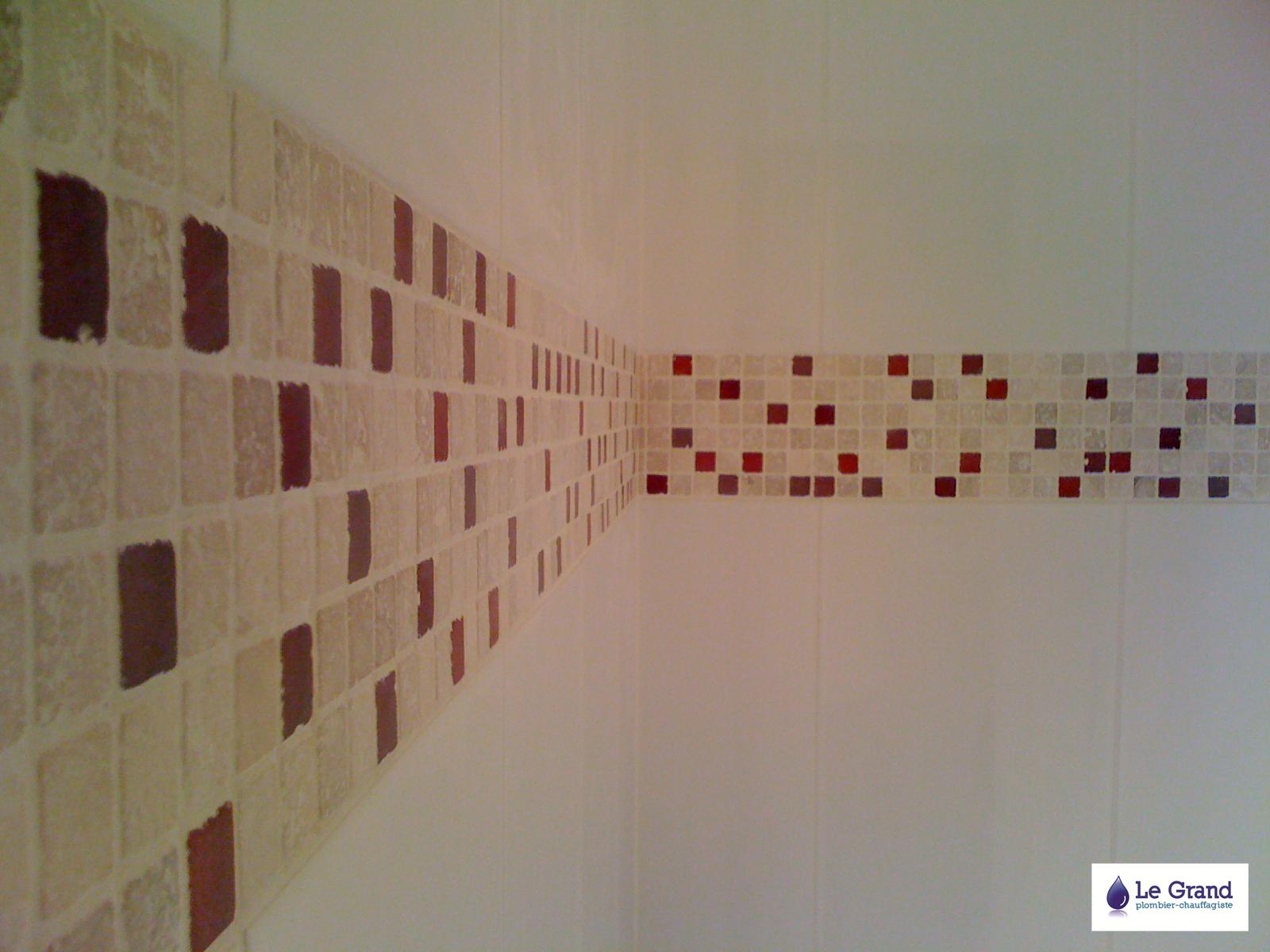 Frise Salle De Bain Mosaique : … Grand Plombier Chauffagiste Rennes Bruz – Salle de Bains Mosaîque