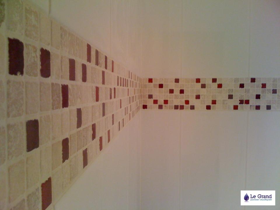 Beautiful Salle De Bain Frise Rouge Pictures - Home Decorating ...