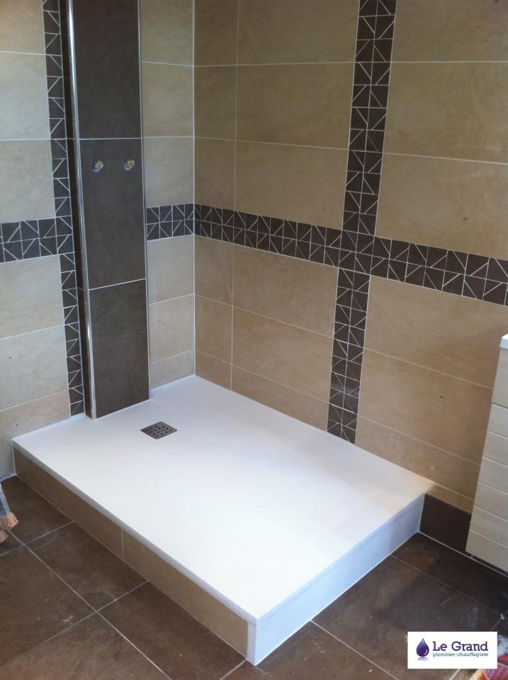 plombier rennes bruz le grand thomas salle de bains receveur gr le grand plombier. Black Bedroom Furniture Sets. Home Design Ideas