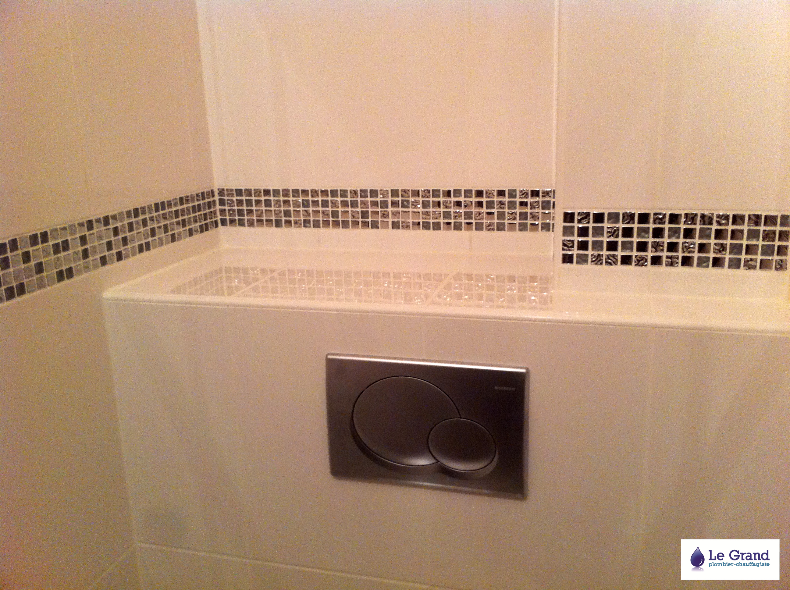 Legrand plomberie plombier rennes salle de bains frise wc - Salle de bain avec wc suspendu ...