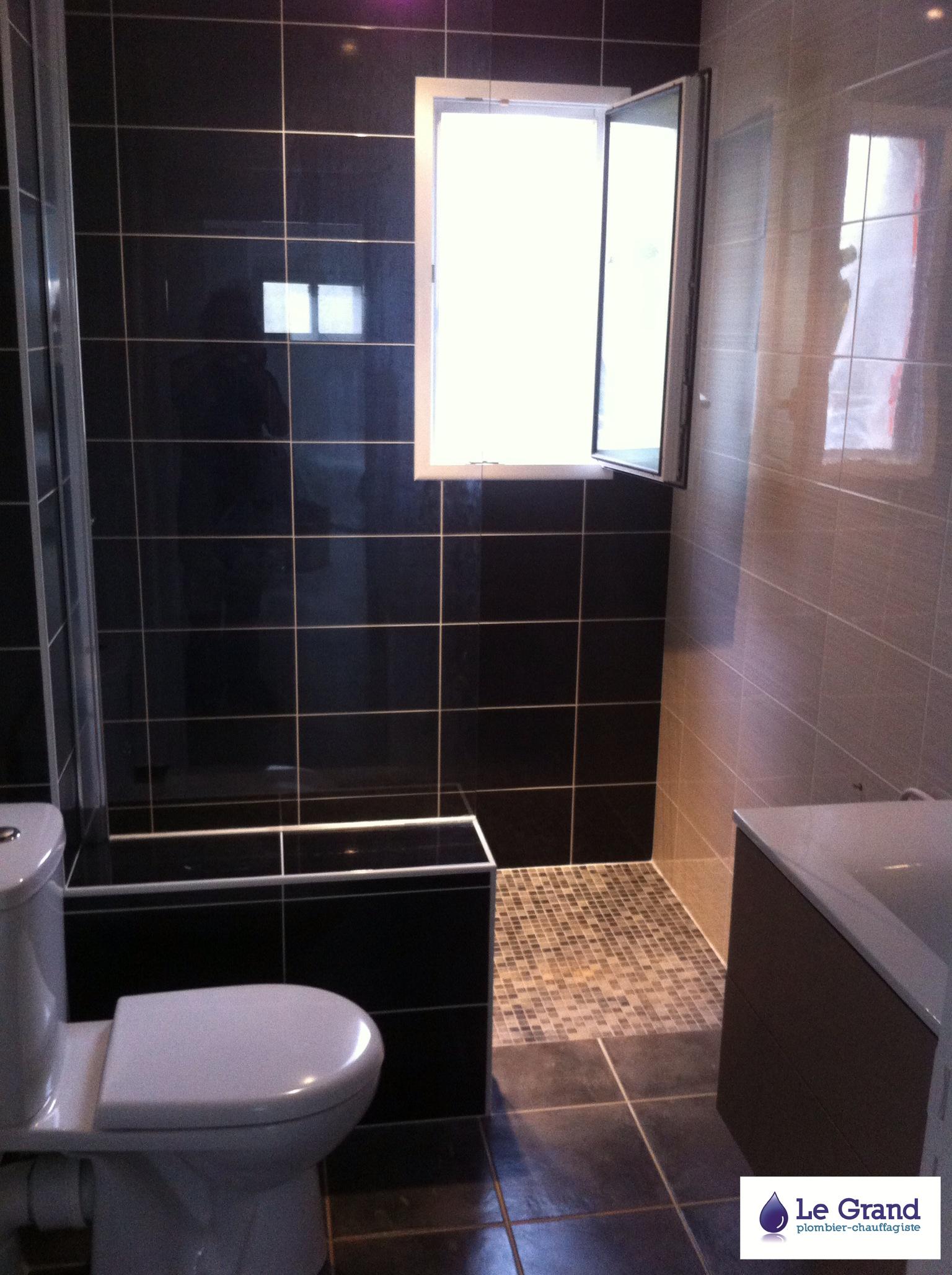 le grand plombier chauffagiste rennes bruz plomberie agencement salle de bains douche. Black Bedroom Furniture Sets. Home Design Ideas