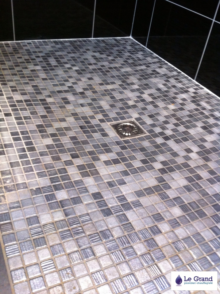 Le grand plombier chauffagiste rennes bruz plomberie for Mosaique salle de bain italienne